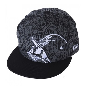 Herren Cap METAL MULISHA - DETAIL - BLK - BLK_SP7596016.01