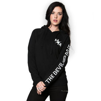 Damen Hoodie - MADE ME - METAL MULISHA - BLK_SP7721001.01