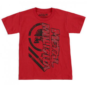 Kinder T-Shirt Street -  BURN - METAL MULISHA, METAL MULISHA
