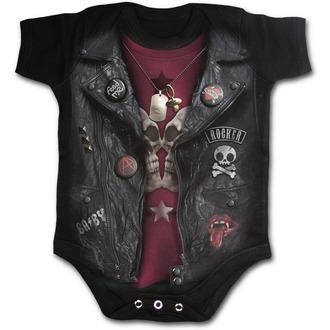 Babybody - SPIRAL - BABY BIKER - Schwarz, SPIRAL