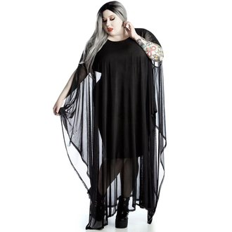 Damen Kleid KILLSTAR - Mystiker Mesh Maxi [PLUS], KILLSTAR
