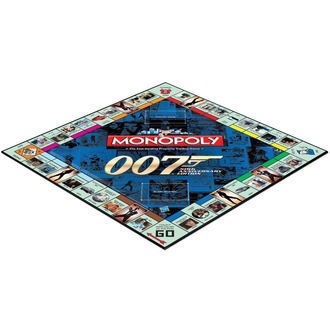 Tafel Spiel 007 James Bond - Monopoly, NNM, James Bond