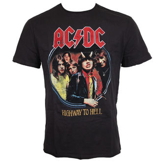 Herren T-Shirt Metal - ACDC -AMPLIFIED, AMPLIFIED, AC-DC