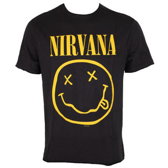 Herren T-Shirt Metal - NIRVANA - SMILEY - AMPLIFIED, AMPLIFIED, Nirvana