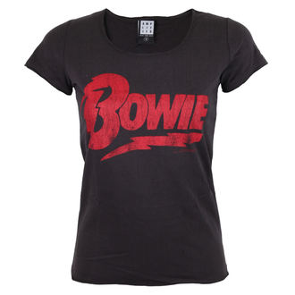 Damen T-Shirt Metal - DAVID BOWIE - LOGO -AMPLIFIED, AMPLIFIED, David Bowie