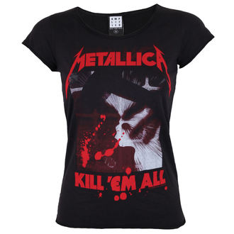 Damen T-Shirt AMPLIFIED - METALLICA - AMPLIFIED, AMPLIFIED, Metallica