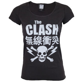Damen T-Shirt Metal - THE CLASH BOLT - AMPLIFIED - ZAV601CBT