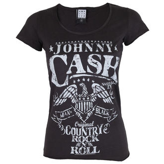 Damen T-Shirt Metal - JOHNNY CASH - ADLER - AMPLIFIED, AMPLIFIED, Johnny Cash