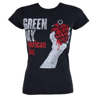 Damen T-Shirt Metal Green Day - American Idiot - ROCK OFF, ROCK OFF, Green Day