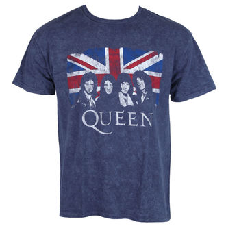 Herren T-Shirt Metal Queen - Denim - ROCK OFF, ROCK OFF, Queen