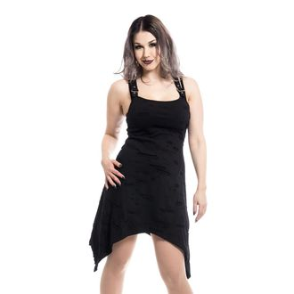 Damen Kleid POIZEN INDUSTRIE - AUTUMN - SCHWARZ, POIZEN INDUSTRIES
