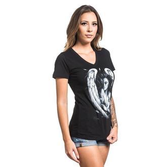 Damen T-Shirt SULLEN - INK ANGEL - SCHWARZ, SULLEN