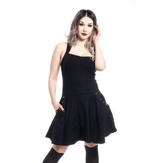 Damen Kleid Poizen industries - NORI - SCHWARZ, POIZEN INDUSTRIES