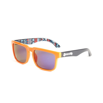Sonnenbrille MEATFLY - Blade - B - Orange / Schwarz, MEATFLY