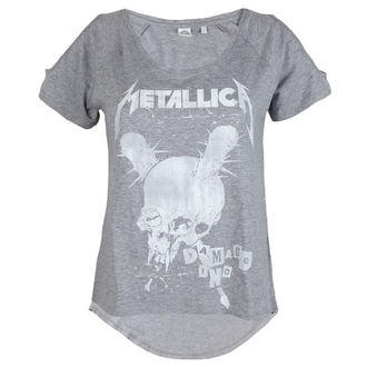 Damen T-Shirt Metal Metallica - Damage Inc Drop Shoulder - - RTMTLGSHGDAM