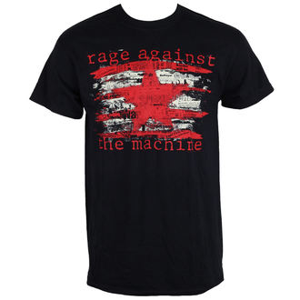 Herren T-Shirt Metal Rage against the machine - Newspaper Star -, Rage against the machine