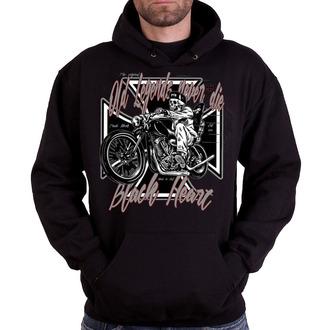 Herren Hoodie - OLD LEGEND - BLACK HEART