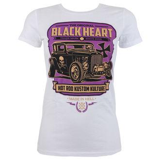 Damen T-Shirt Street - UNITED - BLACK HEART, BLACK HEART