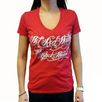 Damen T-Shirt Street - HOT ROD HOOLIGAN - BLACK HEART, BLACK HEART