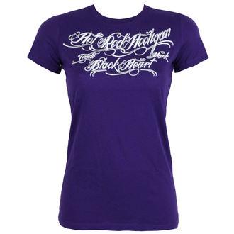 Damen T-Shirt Street - HOT ROD - BLACK HEART, BLACK HEART