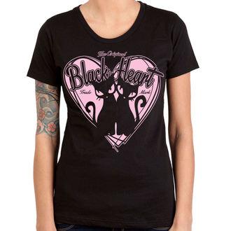 Damen T-Shirt Street - PUSSY CATS - BLACK HEART, BLACK HEART