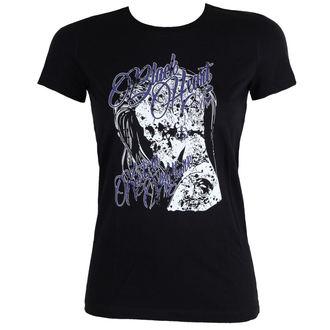 Damen T-Shirt Street - PUNK - BLACK HEART, BLACK HEART