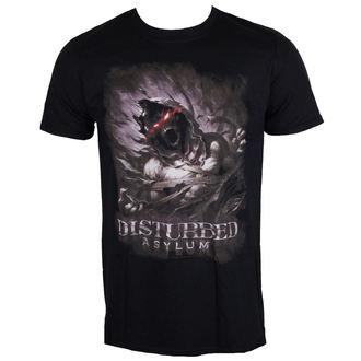 Herren T-Shirt Metal Disturbed - Asylum - ROCK OFF, ROCK OFF, Disturbed