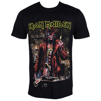 Herren T-Shirt Metal Iron Maiden - Stranger Sepia - ROCK OFF