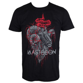 Herren T-Shirt Metal Mastodon - Rams Head - ROCK OFF, ROCK OFF, Mastodon