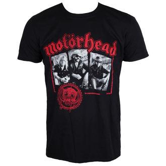 Herren T-Shirt Metal Motörhead - Stamped - ROCK OFF, ROCK OFF, Motörhead