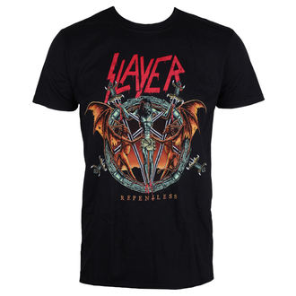 Herren T-Shirt Metal Slayer - Demon Christ Repentless - ROCK OFF, ROCK OFF, Slayer