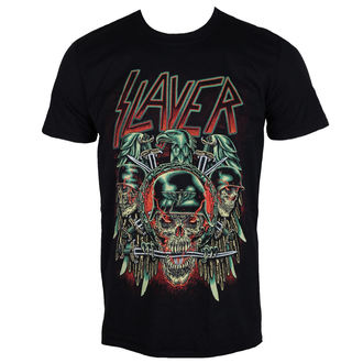 Herren T-Shirt Metal Slayer - Prey with Background - ROCK OFF, ROCK OFF, Slayer