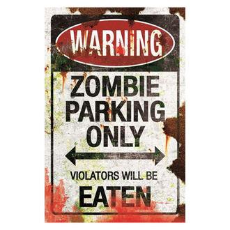 Dekoration (Schild) Zombie Parking