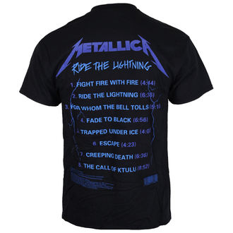 Herren T-Shirt  Metallica - Ride The Lightening -, Metallica