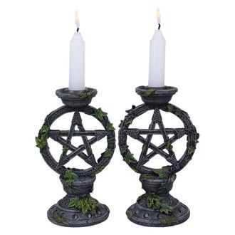 Leuchter (Set) Wiccan Pentagramm
