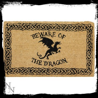 Fußmatte Beware of the Dragon