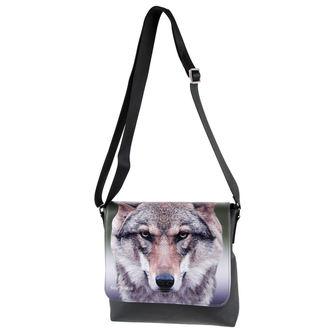 Handtasche (Tasche) Portrait of a Wolf
