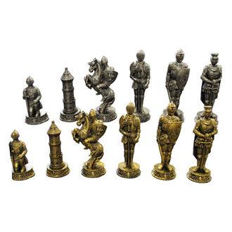 Schach Mittelalterlich Ritter