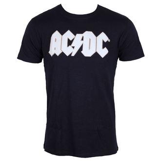 Herren Metal T-Shirt AC-DC - Logo & Angus Applique Slub - ROCK OFF, ROCK OFF, AC-DC