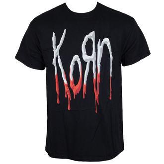 Herren Metal T-Shirt Korn - Bloody Logo -, Korn
