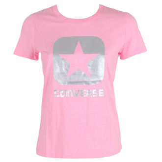 Damen Street T-Shirt - Metallic Boxstar - CONVERSE, CONVERSE