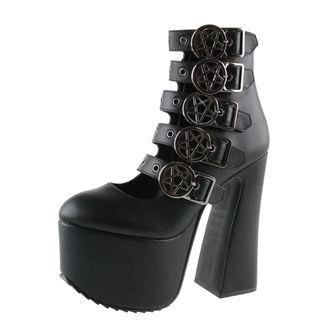 Damen Schuhe KILLSTAR - Burial - Black, KILLSTAR