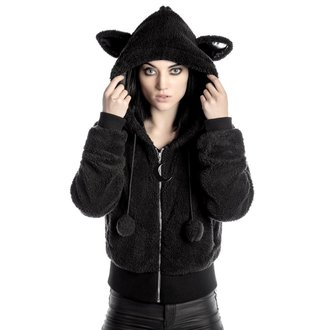 Damen Kapuzenpullover - Satanicat - KILLSTAR - K-JKT-F-2450