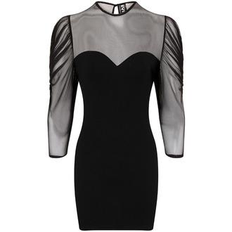 Damen Kleid Necessary Evil - Ruched Mesh Lyssa