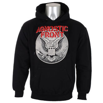 Herren Hoodie Agnostic Front - ALL AGAINST ALL - RAGEWEAR, RAGEWEAR, Agnostic Front
