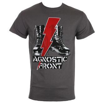 Herren T-Shirt Metal Agnostic Front - BLITZ BOOTS - RAGEWEAR, RAGEWEAR, Agnostic Front