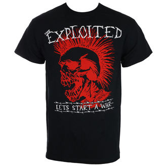 Herren T-Shirt Metal Exploited - LET'S START A WAR - RAGEWEAR, RAGEWEAR, Exploited