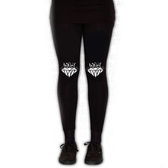 Damen Hose (Leggings) WALLS OF JERICHO - DIAMONDS - Schwarz - RAGEWEAR, RAGEWEAR, Walls of Jericho