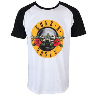 Herren T-Shirt Metal Guns N' Roses - Circle Logo - ROCK OFF, ROCK OFF, Guns N' Roses