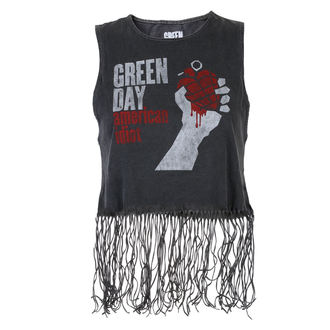 Damen Top Green Day - American Idiot - ROCK OFF, ROCK OFF, Green Day